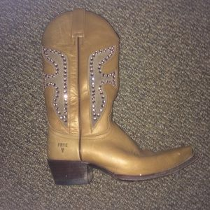 Frye Dixie Cowgirl Boots